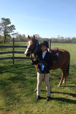 Fearless Riding Student Christen Woods